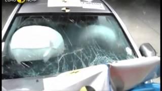 Краш-тест автомобиля Mitsubishi Lancer