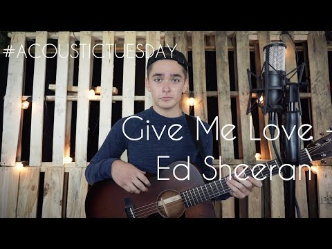 Give Me Love - Ed Sheeran (Acoustic Cover By Ian Grey)