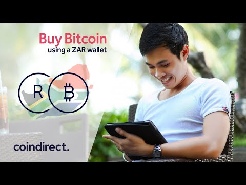 How To Buy Bitcoin In South Africa  & Pay In Rands With Coindirect
