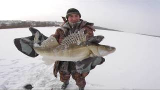 Зимняя рыбалка на Оке последний лёд 01 04 2018