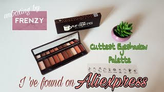 Cuttest Eyeshadow Palette by #AliExpress Beauty #3 Haul Series + GIVEAWAY || FrenzyUnboxing