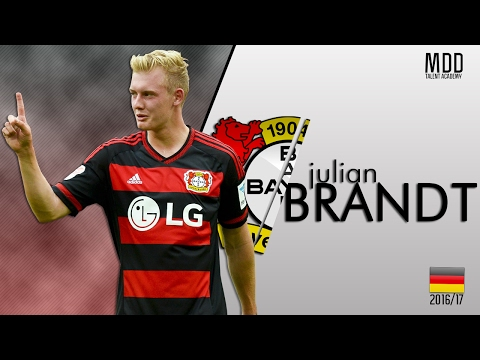 Julian Brandt | Bayer Leverkusen | Goals, Skills, Assists | 2016/17 - HD