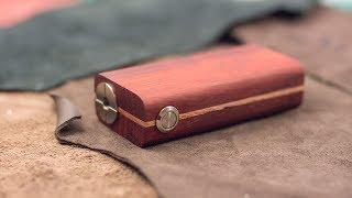 Самодельный деревянный мех/бокс мод