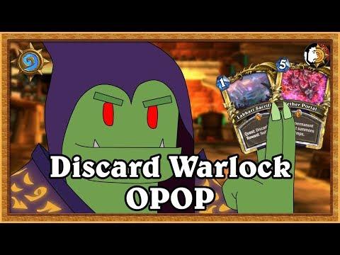 Hearthstone: I WILL WIN ONE GAME - Legend Discard Warlock
