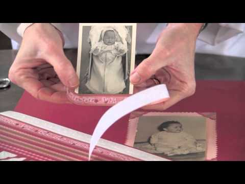 Ideas para crear un precioso lbum de scrapbooking youtube - Como hacer un album scrapbook ...