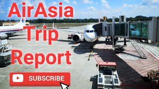 TRIP REPORT   AIRASIA   KOTA BHARU TO KUALA LUMPUR (KBR - KUL)
