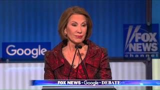 GOP Debate: Carly Fiorina Goes After Bill and Hillary