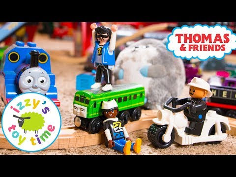 One Year Anniversary with Izzy's Toy Time! Silver Play Button! With Thomas Train! Video for Children