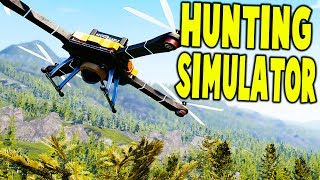 Hunting Simulator - DRONES & MOUNTAIN LION DOME SHOTS - Hunting Simulator Gameplay
