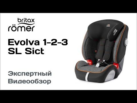 Автокресло Britax Romer Evolva 123 SL SICT обзор Супермаркета Детских Автокресел