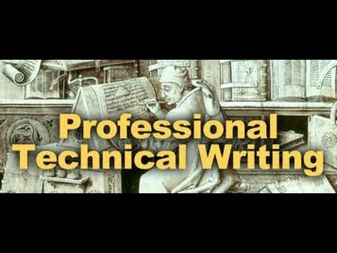 Technical writing 101