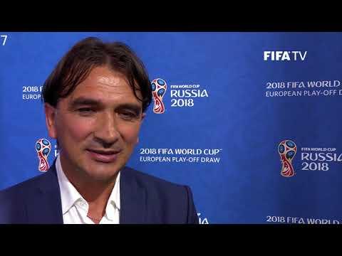Zlatko Dalić - European Play-Off Draw Reaction (EXCLUSIVE)
