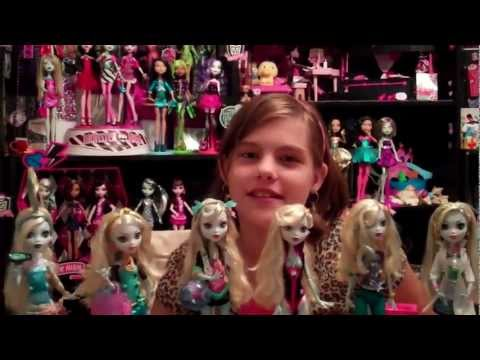 Monster High Lagoona Blue Doll Cake Monster High Lagoona Blue Doll