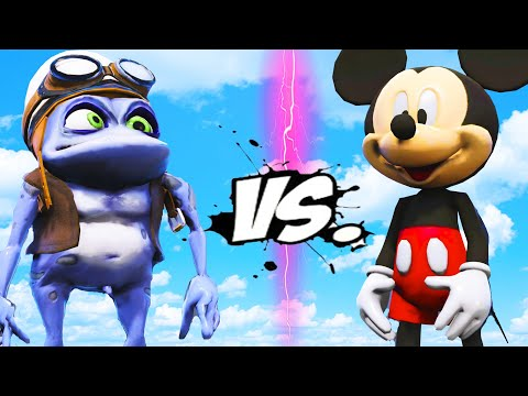 MICKEY MOUSE VS CRAZY FROG