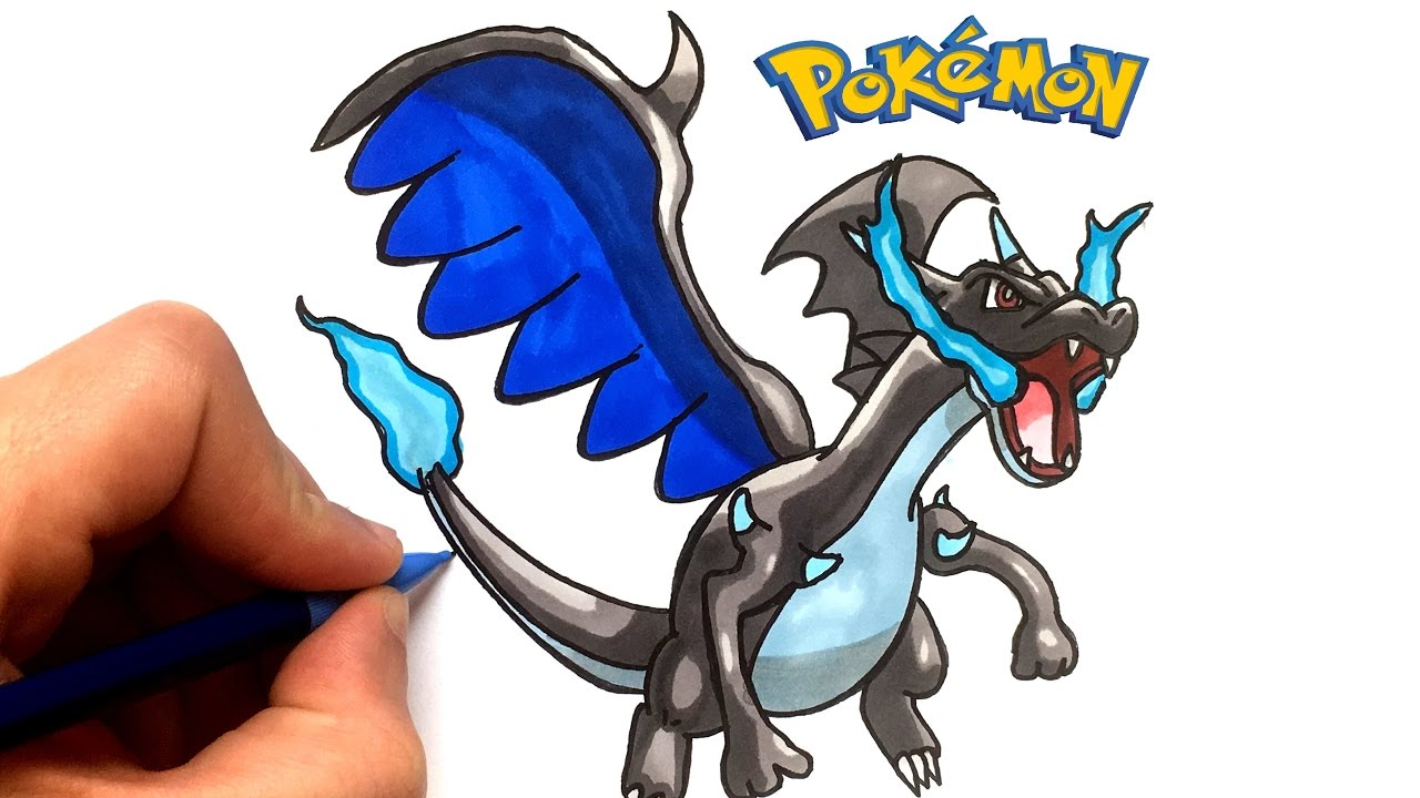 Dessin Dracaufeu X Pokemon Youtube