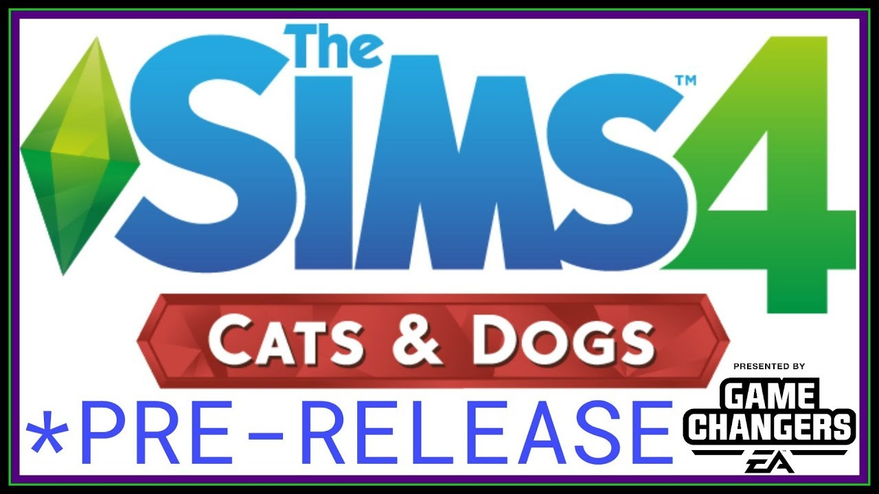 How To Gets Sims Cats And Dogs Early