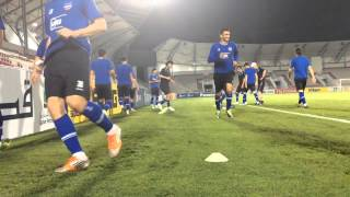 Official training FC Bunyodkor
