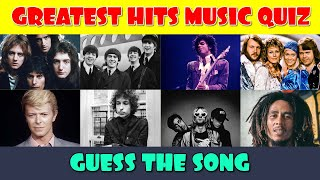 The Greatest Hits Guess the Song Music Quiz