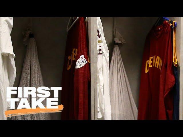 Brian Windhorst Confirms Cavaliers' Locker Room Smelled Like Marijuana | First Take | June 6, 2017