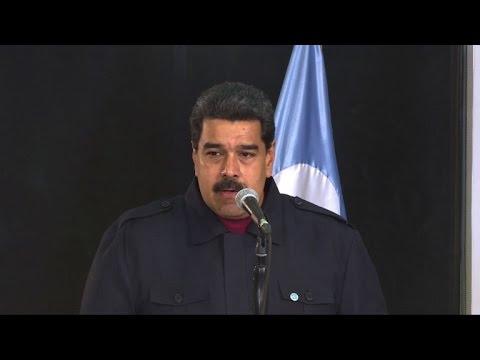 """Venezuelan president denounces """"hate campaign"""" against Trump"""