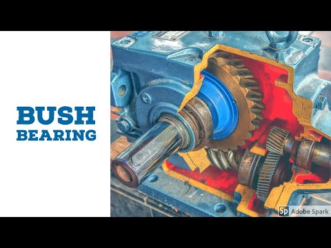 Bushed bearing