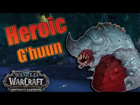 BFA - Heroic Uldir G'huun Affliction Warlock! Sub 5% Wipes w/ Inevitable Demise Strategy and Guide!