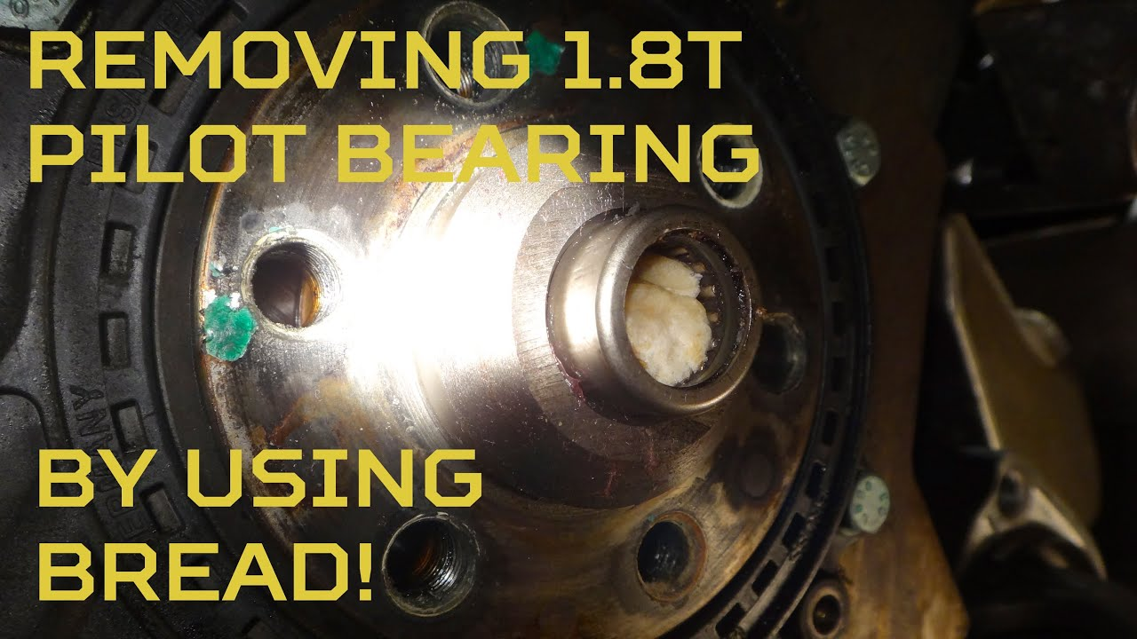 bread to the rescue 1 8t pilot bearing removal using bread youtube rh youtube com 03 Audi A4 Specs 03 Audi A4 Specs