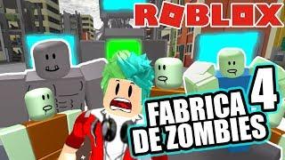 Fabrica de Zombies 4 | Zombie Apocalypse Roblox | Juegos Roblox Karim