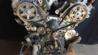 Gaining Access to Timing Belt on Honda Acura V6 3.2L 3.5L 3.7L J Series Engine in Detail