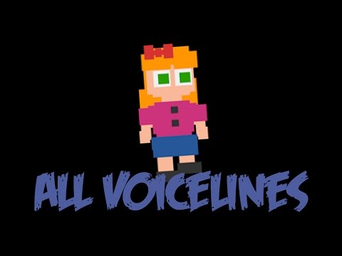 Afton's Daughter | All Voicelines with Subtitles | FNaF Sister Location