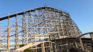 Timber Wolf (On-Ride) Worlds of Fun