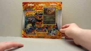 pokmon flashfire haxorus blister pack opening