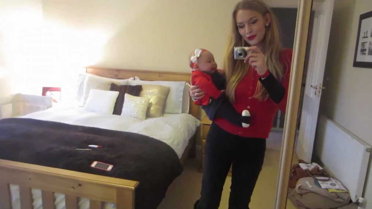 CHRISTMAS MOM & BABY OOTD! - YouTube