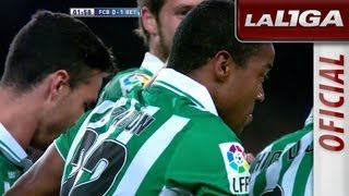 Gol de Pabón (0-1) en el FC Barcelona - Real Betis - HD