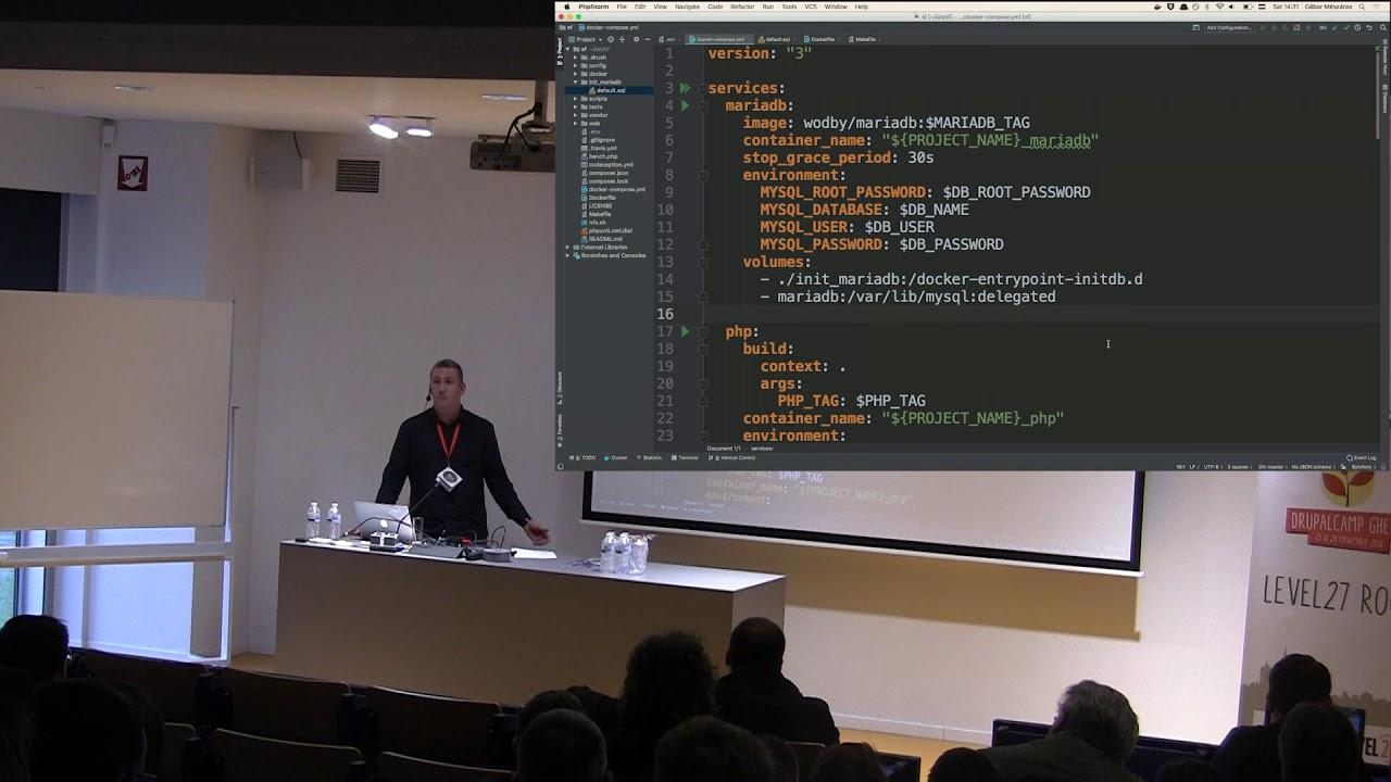 Drupal 8 Multisite with Docker4Drupal - Gabor Mészáros