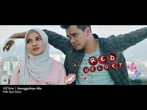 (OST DRAMA RED VELVET) Alif Satar - Sesungguhnya Aku (Lyric Video)