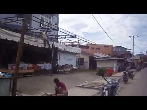 Jalanan Kota Gunungsitoli-Nias