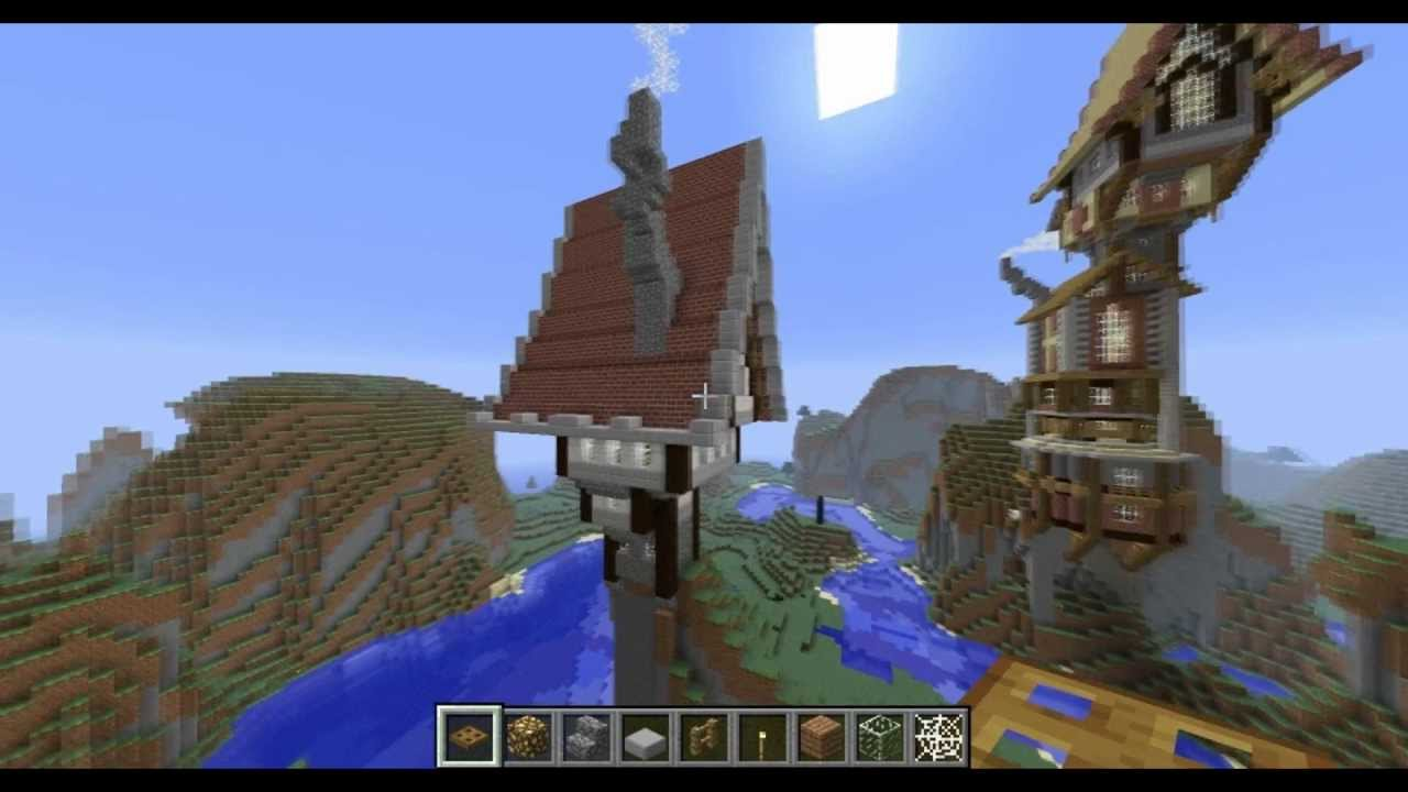 minecraft quick steampunk build youtube