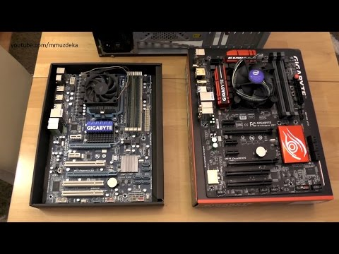 How to replace old motherboard with a new one? [Video commentary]