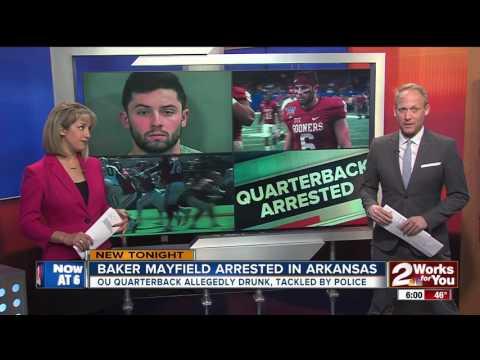Baker Mayfield arrested in Arkansas