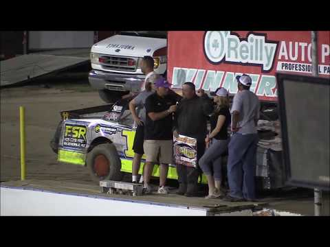 81 Speedway Support Classes May 12, 2018 (Thumpers, AAA Modifieds and Rookie Modifieds)