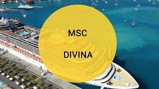 Обзор лайнера MSC DIVINA компании MSC Cruises от FOUR GATES UKRAINE