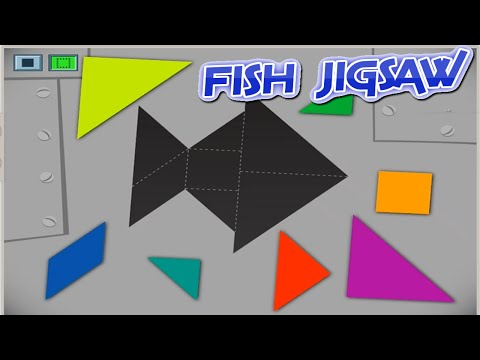 b95127bc35eb How to Fish jigsaw - Choosing the right fish parts and combine them  together into a