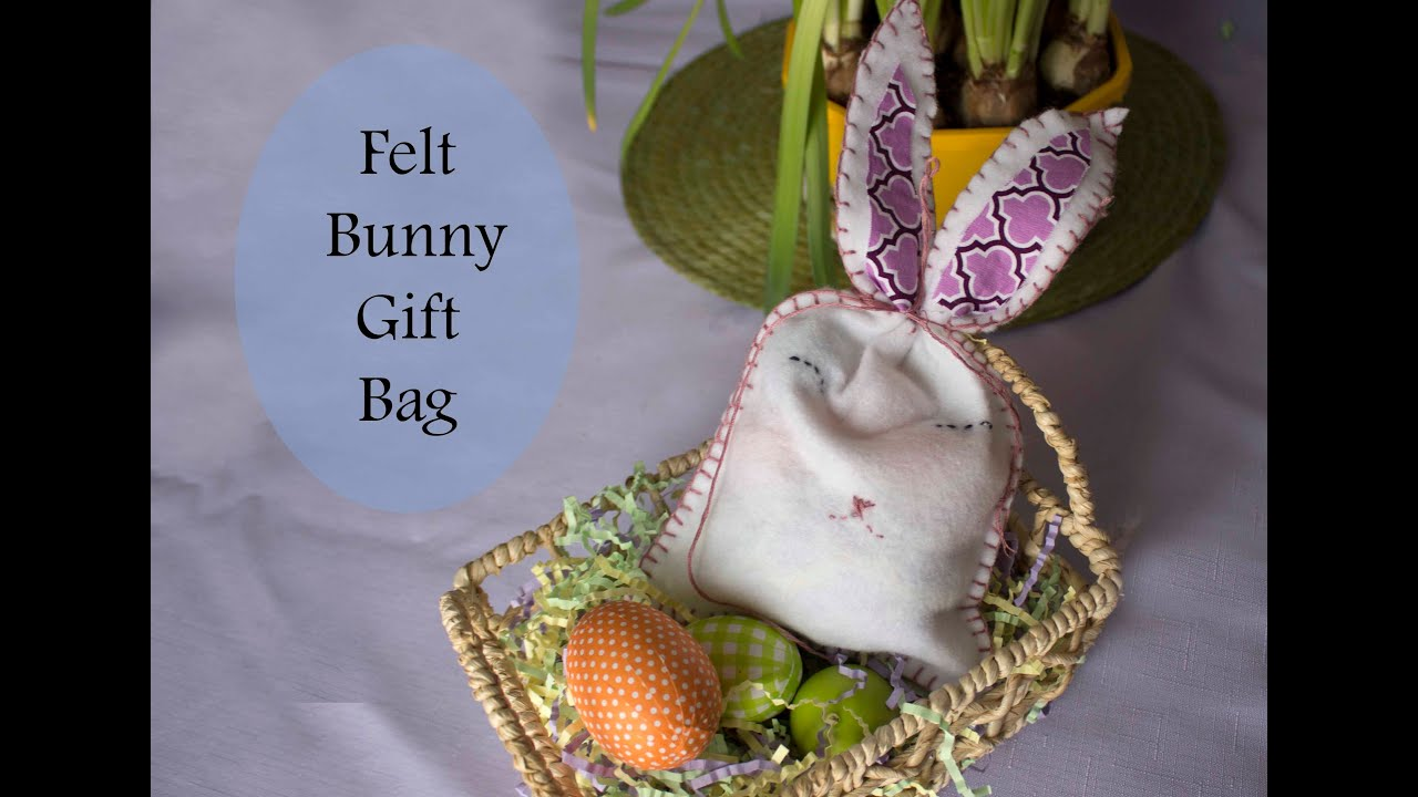 Easy easter bunny gift bag tutorial youtube easy easter bunny gift bag tutorial negle Image collections