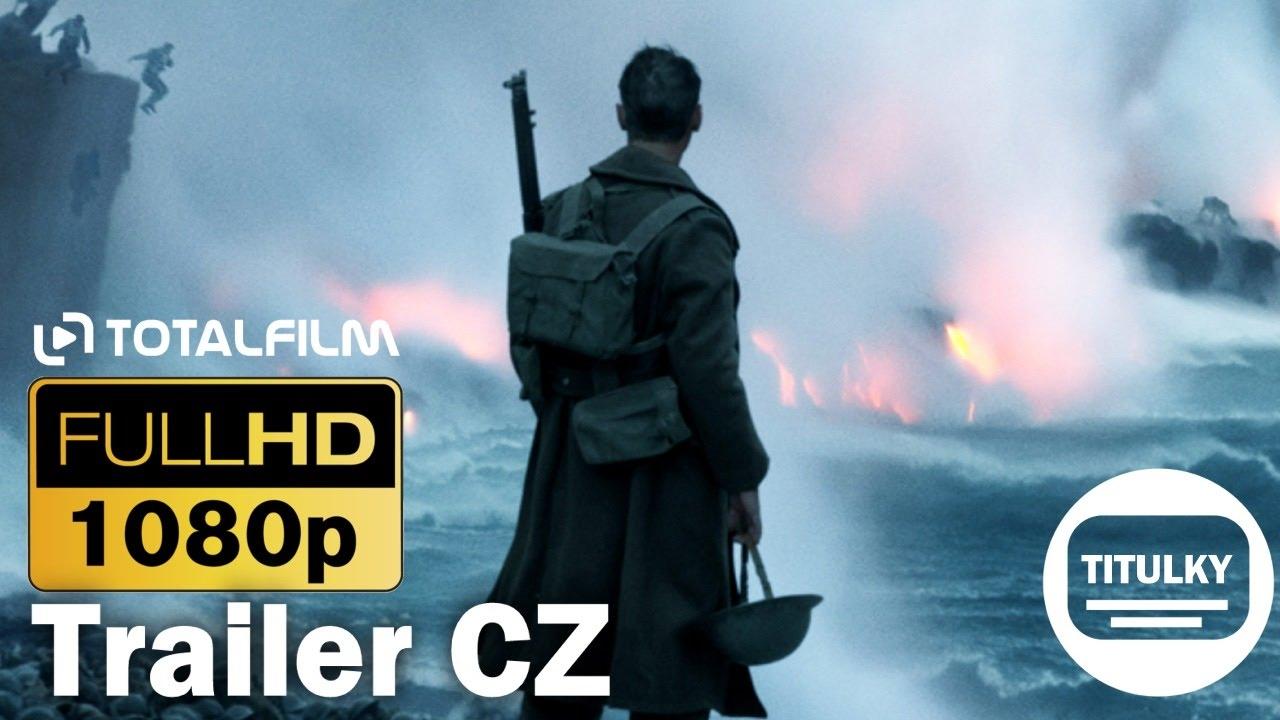 Dunkerk / Dunkirk (2017) CZ HD trailer (3 Ceny Akademie®)