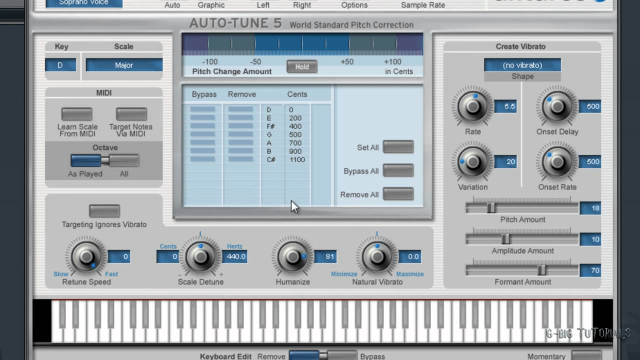 Taylor Swift Love story + You belong with me Autotune Settings