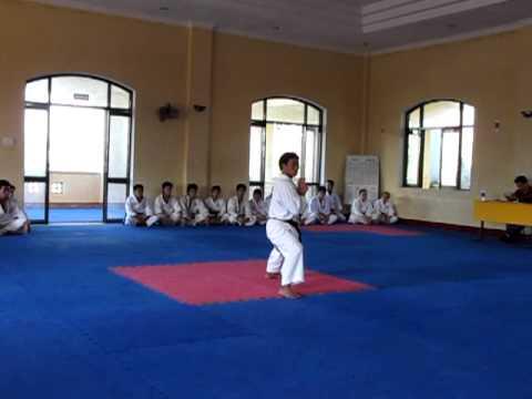 Kata Karate Thi Huyền Đai 2011 - Câu Lạc Bộ Suzucho KarateDo Đại Học Đà Nẵng