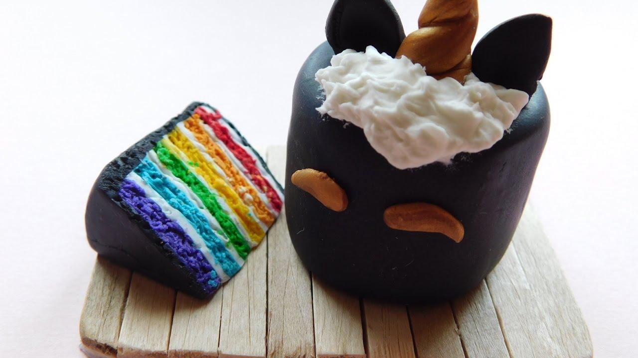 Tuto Fimo Rainbow Cake