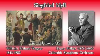 Wagner: Siegfried Idyll, Walter & ColumbiaSO (1959) ワーグナー ジークフリート牧歌 ワルター thumbnail