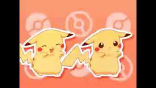 Pikachu Caramelldansen english lyrics